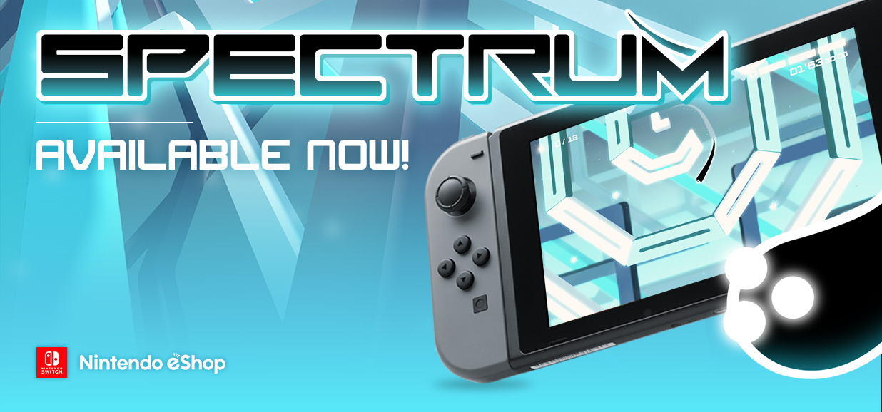 Spectrum is now available on Nintendo Switch!